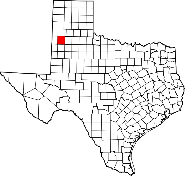 Map Of Xit Ranch Texas.147 Lamb County 254 Texas Courthouses
