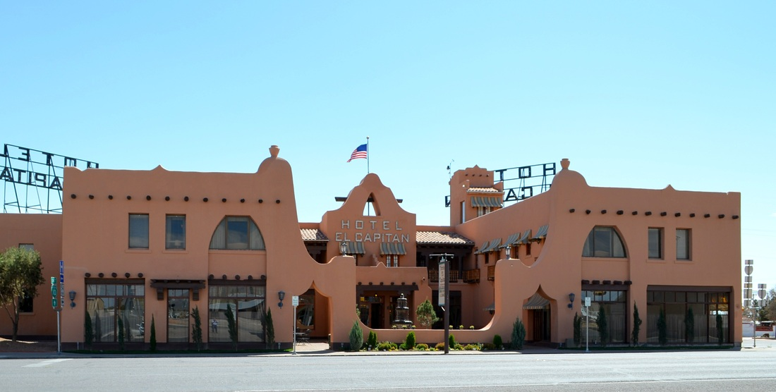 It Was One Of The Five Gateway Hotels In A Chain Built By Eastern New Mexico